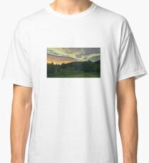 Sunset on the Green. Classic T-Shirt