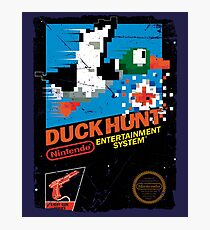 DUCK HUNT NES COVER  Photographic Print
