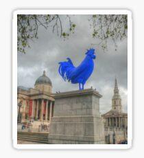 Trafalgar Blue Sticker