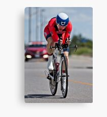 Womens Individual Time Trial No 6 Canvas Print