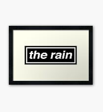 The Rain - OASIS Spoof Framed Print