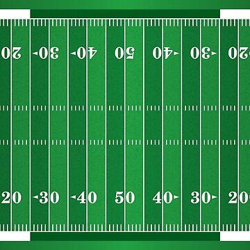 American Football Pitch by DV-LTD