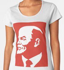 Portrait of Lenin Women's Premium T-Shirt