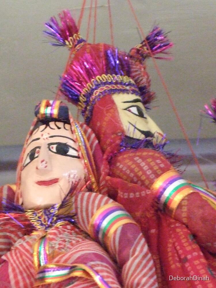 His 'n Her Puppets by DeborahDinah