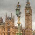 The Tower Of Big Ben by Michael Matthews