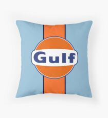 Gulf stripe Throw Pillow