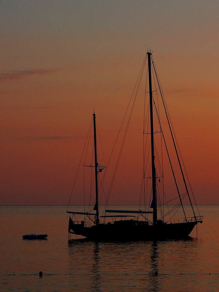 Sailing into the Sunset by avocet