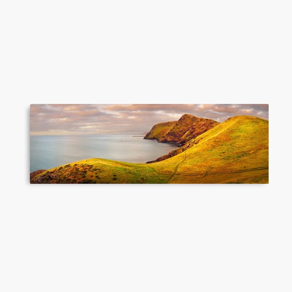Golden Glow, Second Valley, Fleurieu Peninsula, South Australia Canvas Print