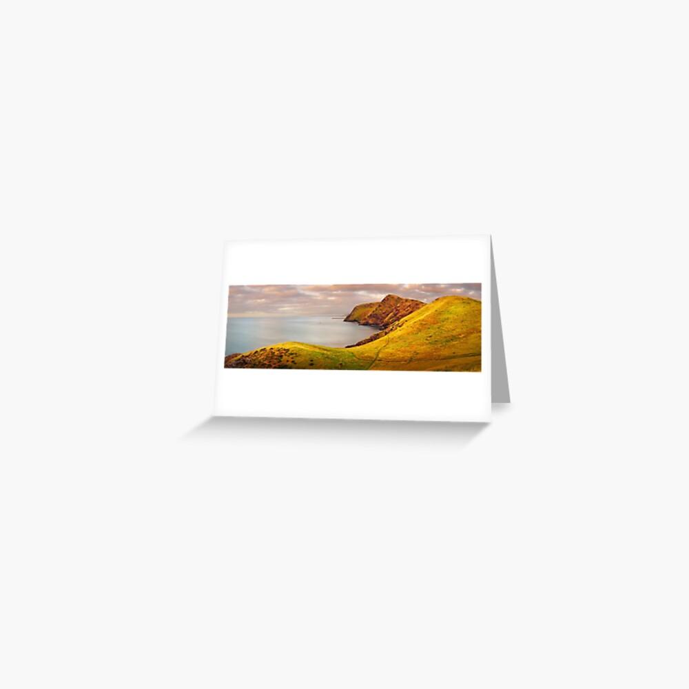 Golden Glow, Second Valley, Fleurieu Peninsula, South Australia Greeting Card