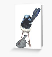 Wren Exclamation Greeting Card