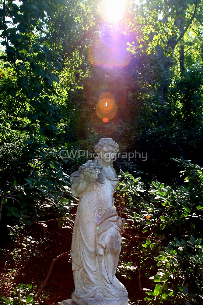 Sunshine on the Statue by CWPhotography