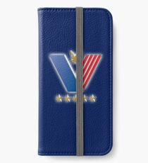 Respect for the Veterans, USA, Military, America, American, Serviceman, Navy Blue iPhone Wallet/Case/Skin
