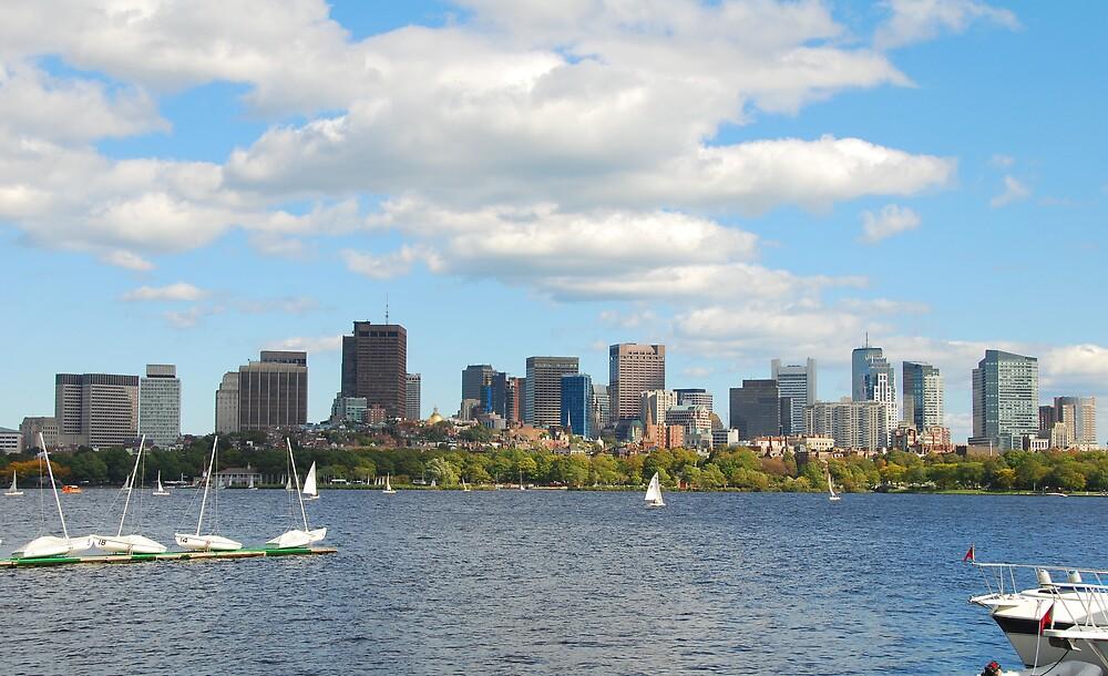 BOSTON charles river, MA by davidwall