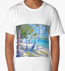 Bribie Beach Sunny Sunday Long T-Shirt