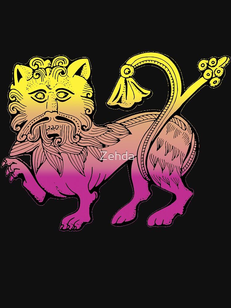Medieval Lion by Zehda