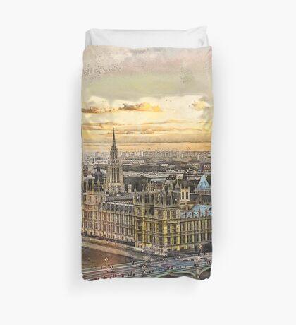 London city art 3 #london #city Duvet Cover