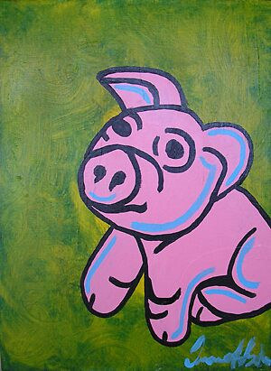 pig 1 by Duane Hyde