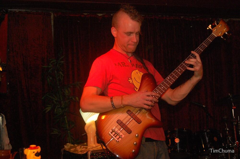 UNCLECHUNK bass solo by TimChuma