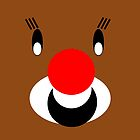 Rudolph the Red Nosed Reindeer- FOR FESTIVE HOME DECOR AND CLOTHING FOR ADULTS AND KIDS  Throw Pillows by ozcushions