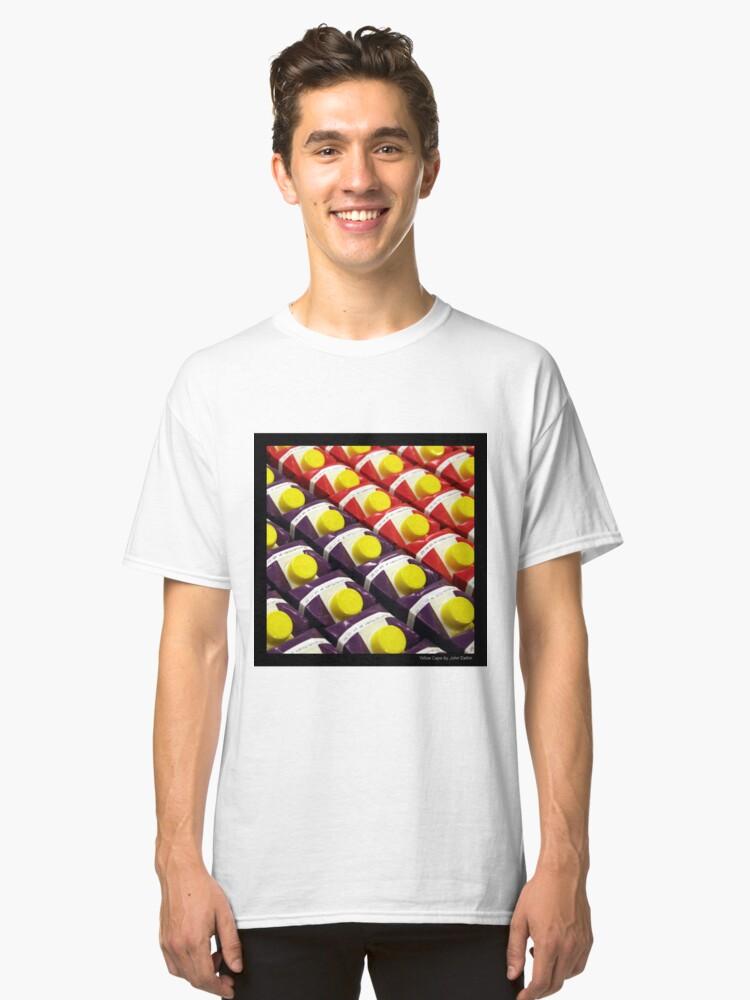Alternate view of Yellow Caps Classic T-Shirt