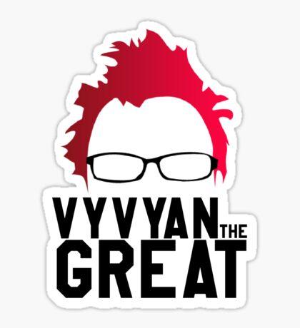 Vyvyan The Great Sticker