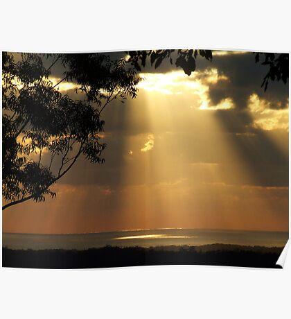 """""""Sun meets Ocean"""" Poster"""