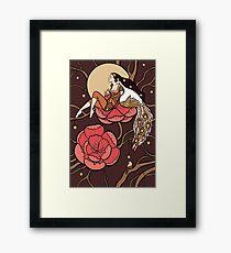 Botanical fantasy Framed Print
