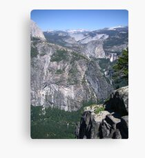 Yosemite Outcrop Canvas Print