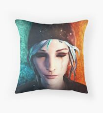 Chloe between Death and Life (is Strange) Floor Pillow