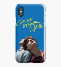 call me by your name poster iPhone Case/Skin