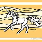 Sand Uniquorn - #inktober 2017 unicorn illustration by mellierosetest