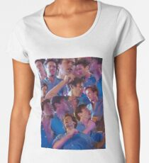 call me by your name armie oliver dancing Women's Premium T-Shirt