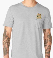 Doge Pocket Men's Premium T-Shirt