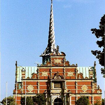 Børsen (The Stock Exchange) in Copenhagen by amb1946