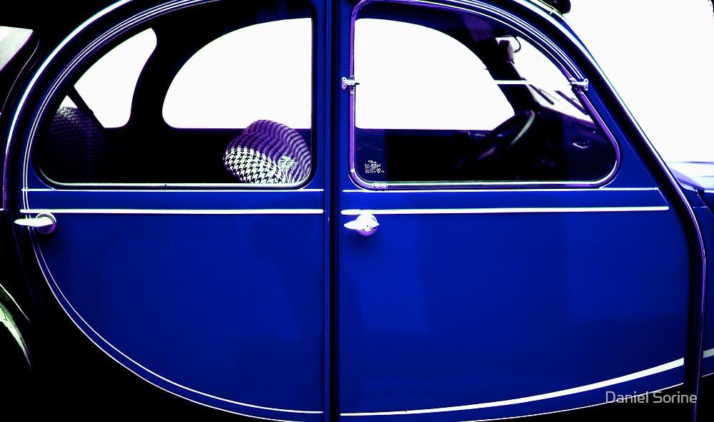 2CV Blue by Daniel Sorine