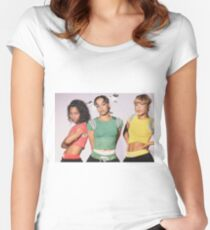 t l c Women's Fitted Scoop T-Shirt