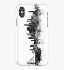 San Francisco Black and White iPhone Case