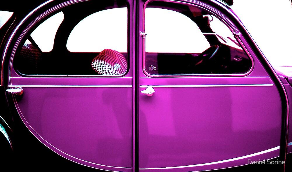 2CV Purple by Daniel Sorine