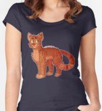 Firestar (Krieger Katzen) Tailliertes Rundhals-Shirt