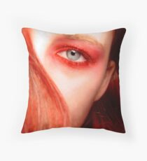 Vermillion Throw Pillow