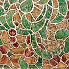 Mosaic Wall Map .........................Rome by Fara