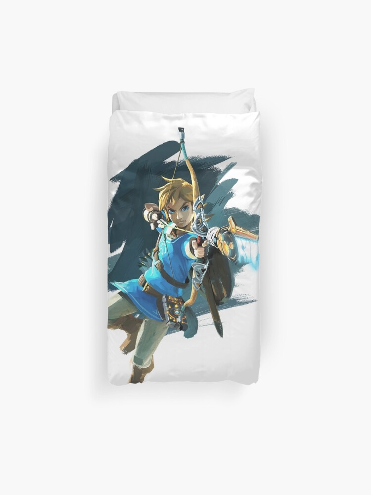 Lien Avec L Arc Legend Of Zelda Souffle De La Nature Housse De Couette