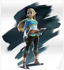Zelda Legend of Zelda Breath of the Wild Poster