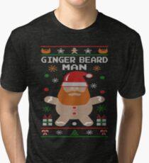 Ginger Beard Man Ugly Tees Tri-blend T-Shirt
