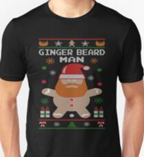 Ginger Beard Man Ugly Tees Unisex T-Shirt