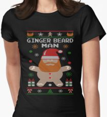 Ginger Beard Man Ugly Tees Women's Fitted T-Shirt