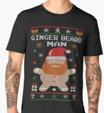 Ginger Beard Man Ugly Tees Men's Premium T-Shirt