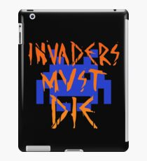 INVADERS MUST DIE III iPad Case/Skin