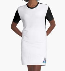Space Mission Parody Patch No. 11 Graphic T-Shirt Dress