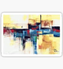 Abstract 15 Sticker